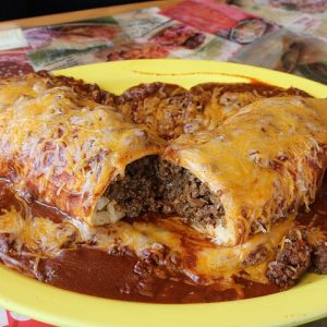 mexican food on a plate